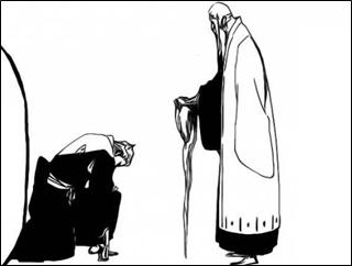ซาซาคิเบะสาบานว่าจะเป็นรองหัวหน้าหน่วยตราบที่เก็นริวไซยังมีชีวิตอยู่