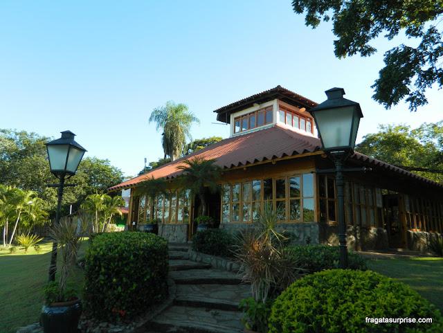 Centro de visitantes da Gruta de São Miguel, Bonito