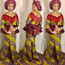 Checkout This Creative Aso Ebi Gown Style for Ladies