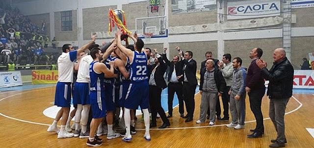 Basketball: MZT Mazedonischer Pokal Sieger