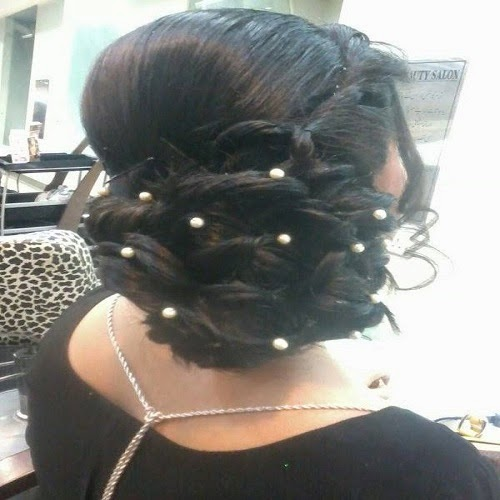 Best And Latest Pakistani Bridal Hair Styles