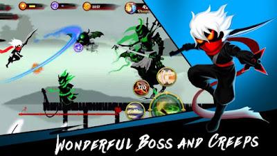 Stickman Quest v1.3 Mod Apk Free Shopping Versi Terbaru
