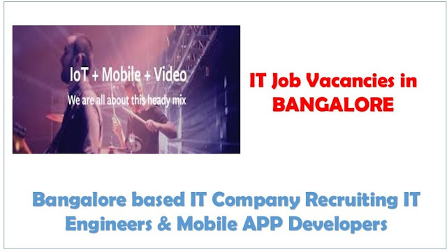 jobs in bangalore, urgent job openings in bangalore for it setor