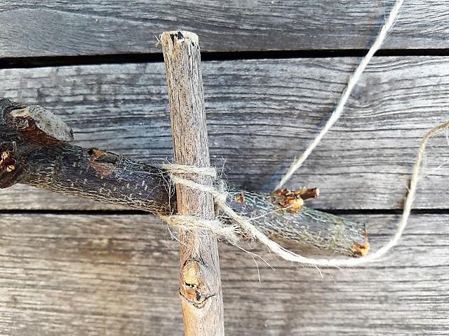 Basteln Mit ästen mondarah gartendeko mit kindern basteln diy für ein spinnennetz