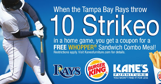 Tampa Bay Rays 2017 Promotion