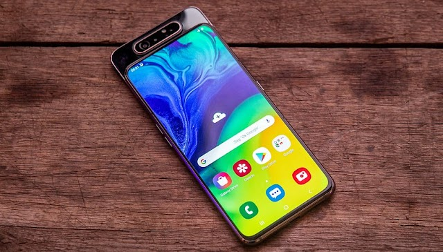 Samsung Galaxy A80 Camera (Rotating) , In Display Finger, Launch , Specifications, Features
