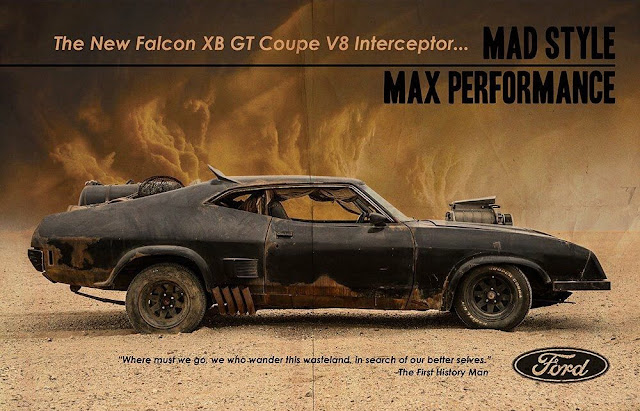 Mad Max Ford Falcon XB GT Coupe