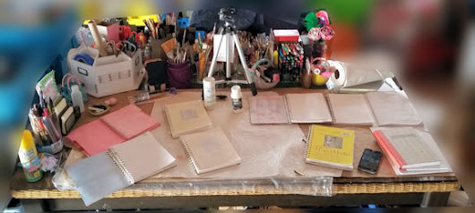 #WOYWW 399 Prepping #artjournal pages