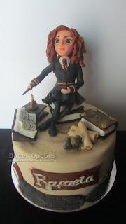 Bolo de aniversário Hermione Granger