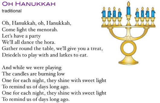 Nice Hanukkah Songs Lyrics, For Choir, Kids, Preschoolers | Modern Hanukkah Songs  | Traditional