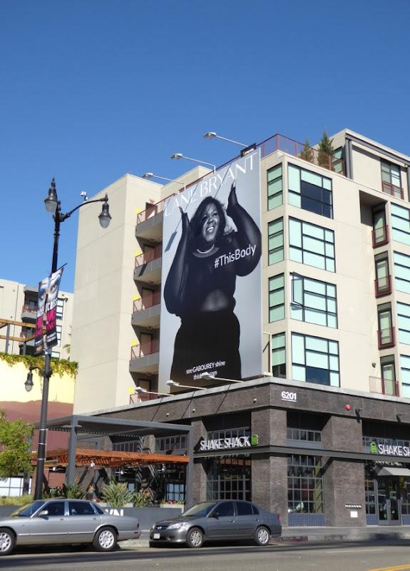 Gabourey Sidibe Lane Bryant This Body billboard