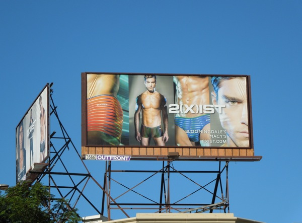 2Xist mens underwear billboard Nov14