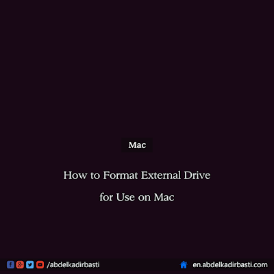 How to Format External Drive for Use on Mac