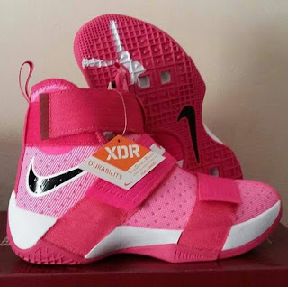 Sepatu Basket Murah, Sepatu Basket Nike LeBron Soldier 10 Think Pink, Sepatu Basket terbaru