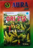 Cabe Ori 212, Benih Cabe Ori 212, Aura Seed, Cabe Ori Terbaru, Lmga Agro