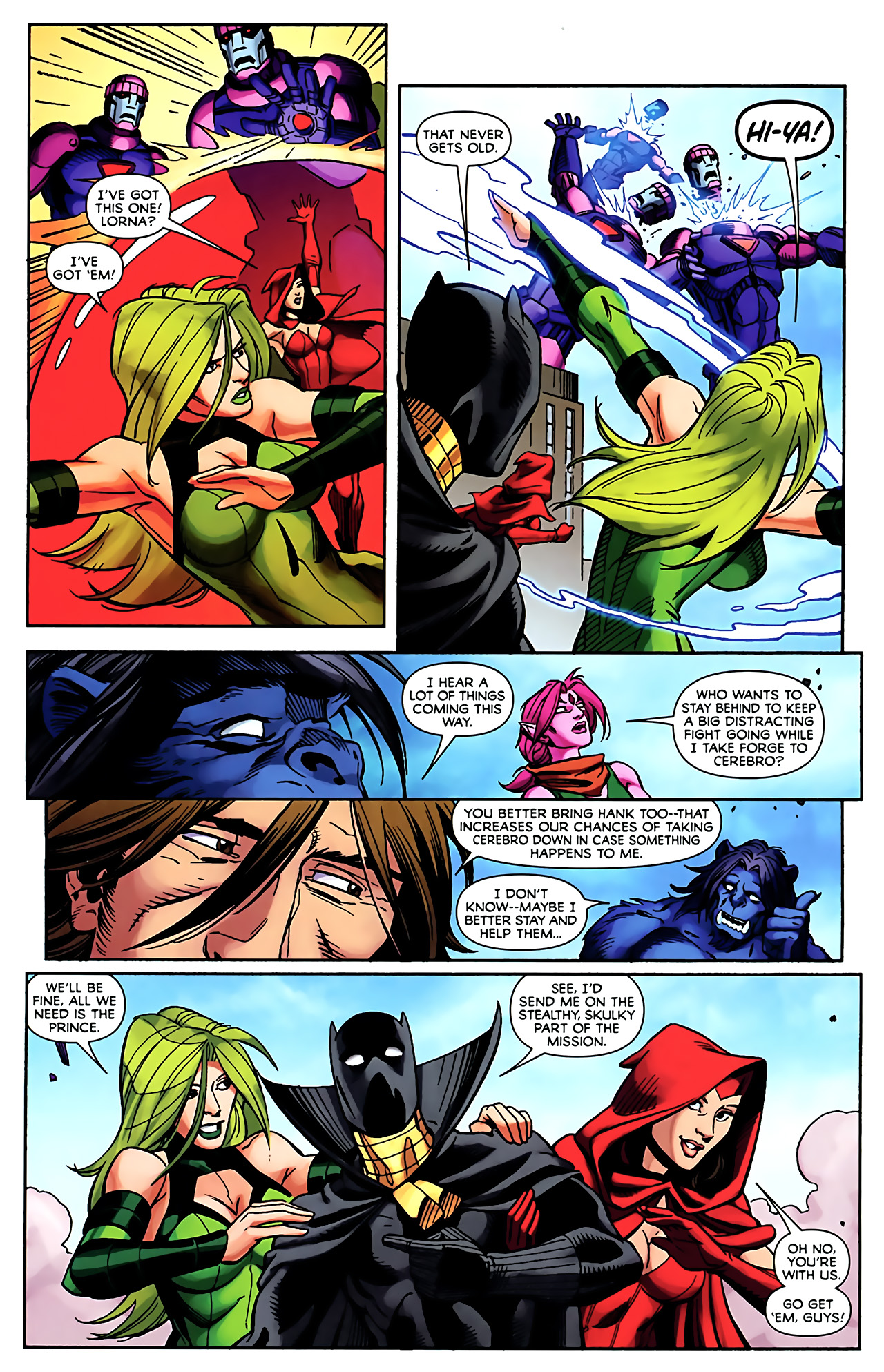 Read online Exiles (2009) comic -  Issue #5 - 14