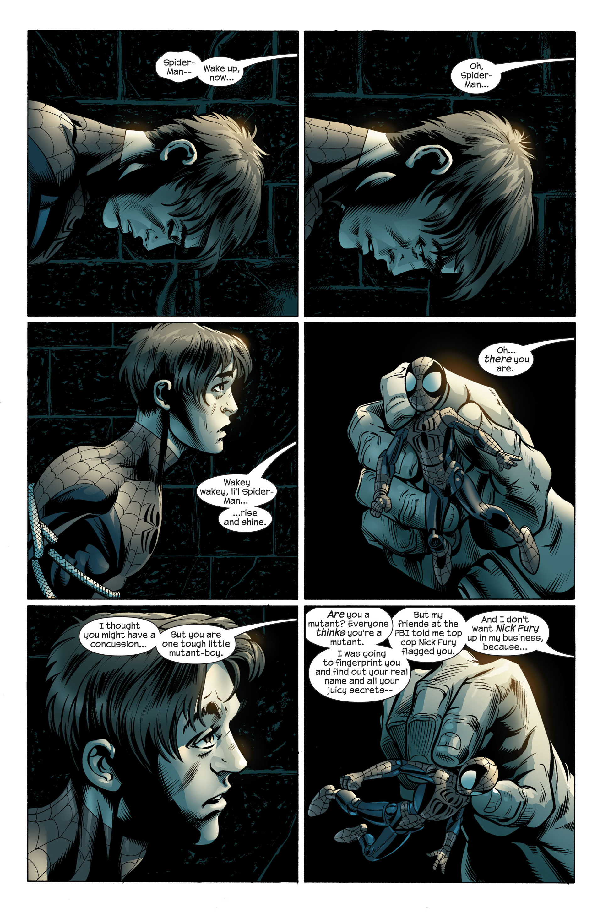 Read online Ultimate Spider-Man (2000) comic -  Issue #109 - 4