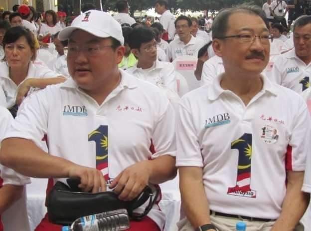 Jho Low dan bapanya