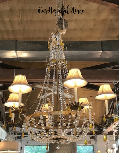 vintage crystal antique chandelier lamp shades