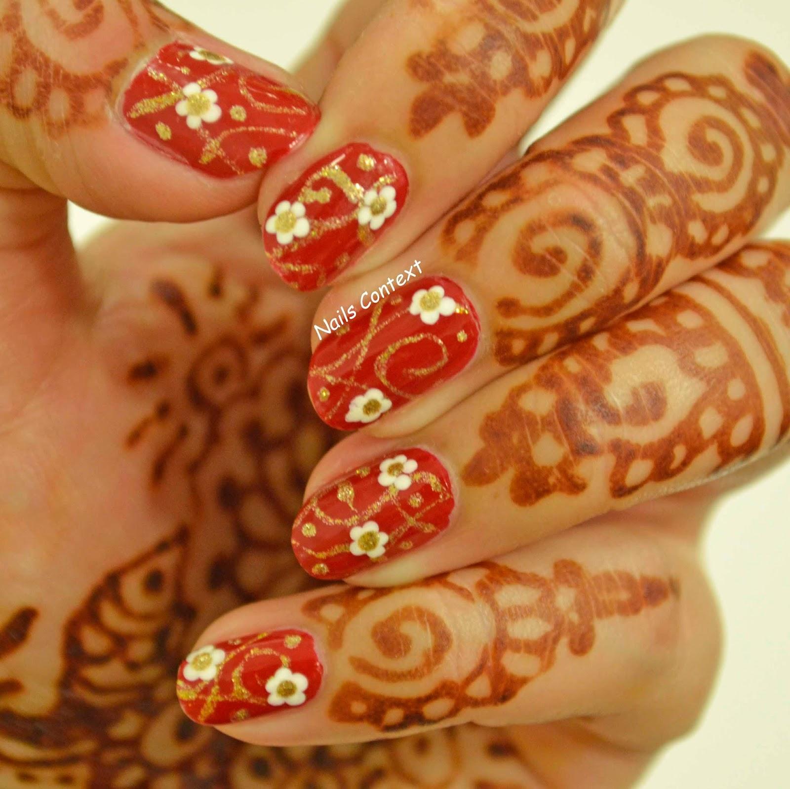 Nails Context: Indian Bridal Nails