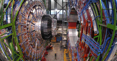 LHC successfully collided two proton beams which can open the gates to Hell.