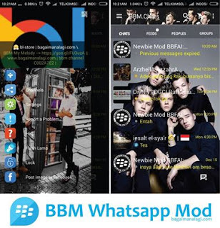 BBM Whatsapp Mod One Drirection Apk