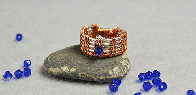 How To Make A Wire Ring With Beads | Elegant Jewelry Beads And Accessories Diy Jewelry Copper Wire
