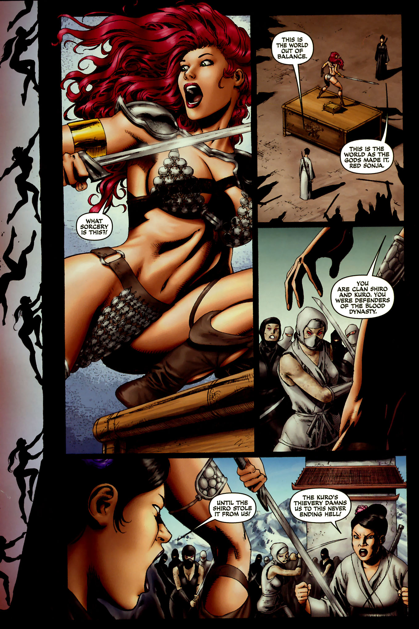 Read online Red Sonja (2005) comic -  Issue #45 - 19