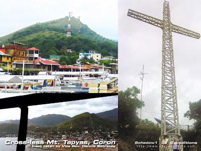 Cross-less Mt. Tapyan Haiyan Yolanda Typhoon Devastation