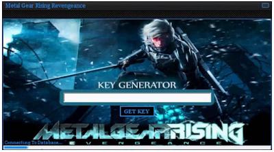 this is Metal Gear Rising Revengeance Key Generator Tool 2013 Screenshot
