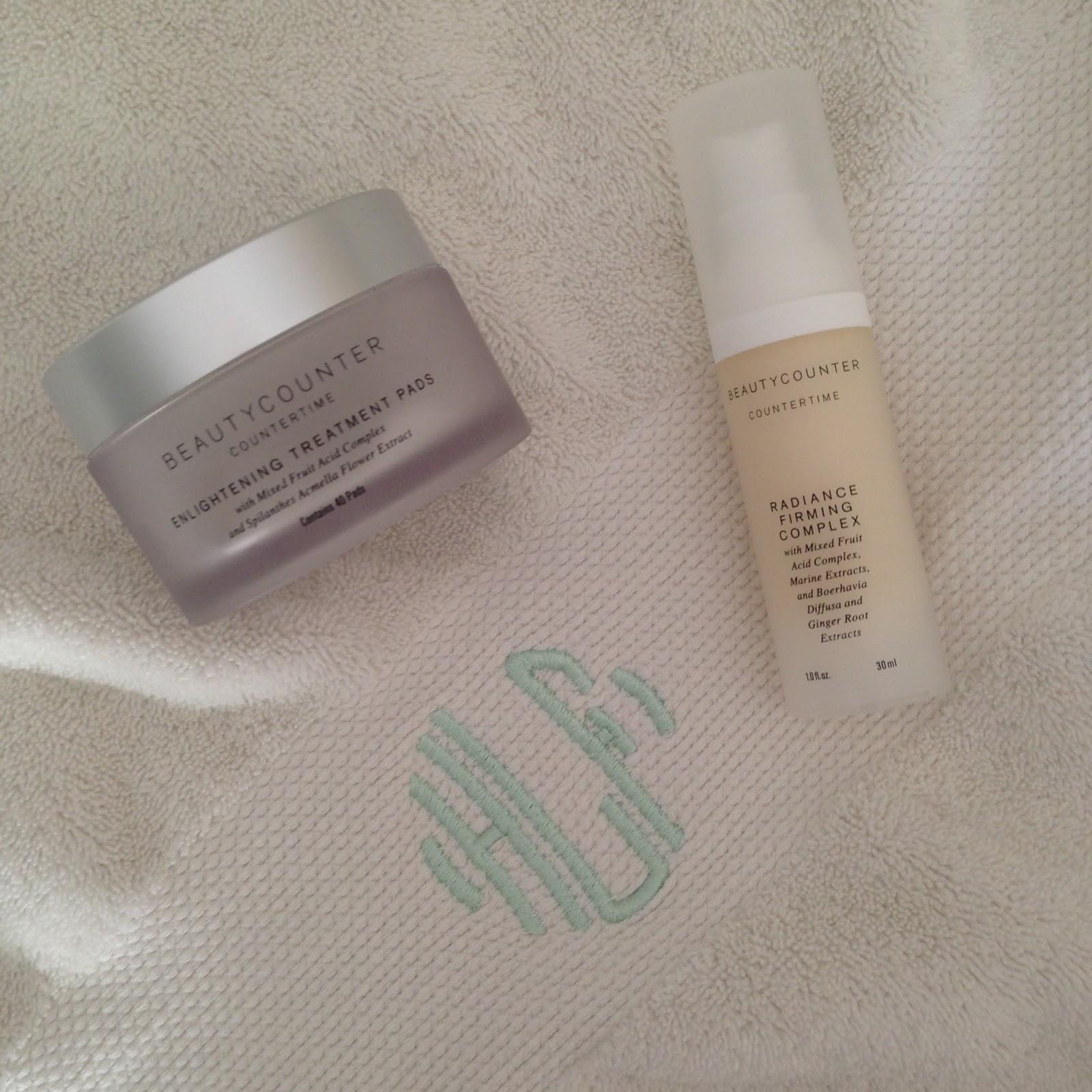 beauty counter enlightening treatment pads