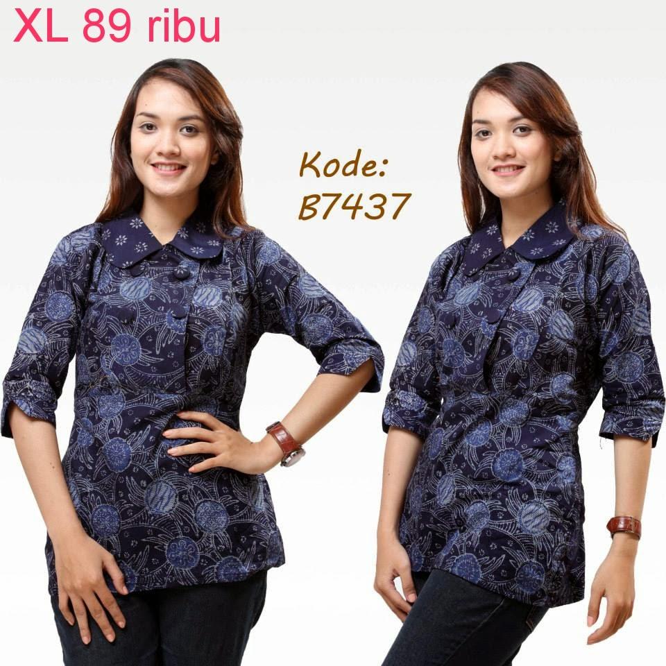 Online Shop Baju Batik Kerja: Model Baju Batik Modern Untuk Kerja