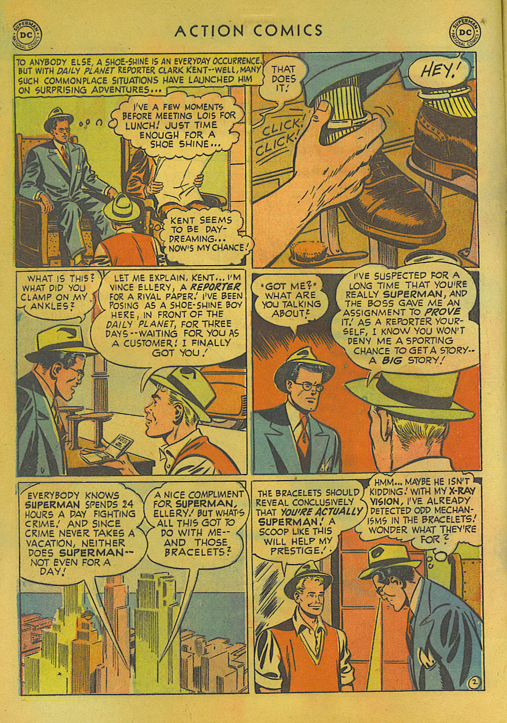 Read online Action Comics (1938) comic -  Issue #157 - 3
