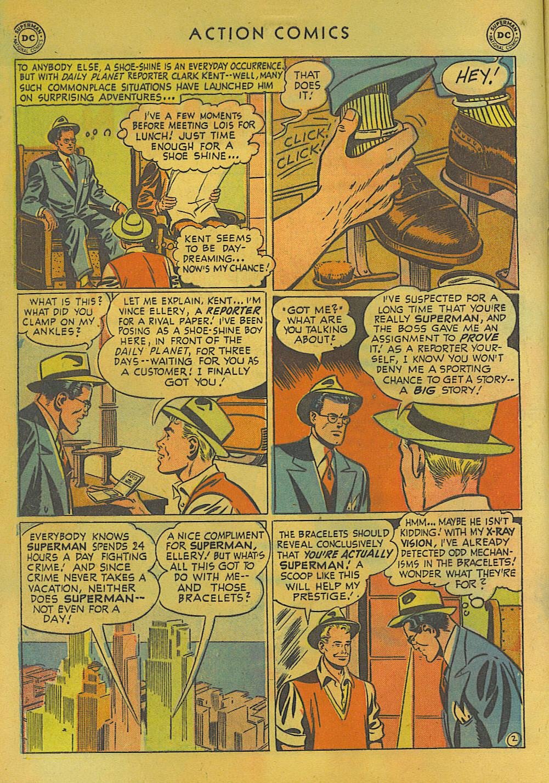 Action Comics (1938) 157 Page 2
