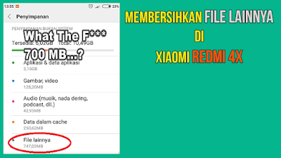 Langkah Atasi File Lainnya di Xiaomi Redmi  Update...5 Langkah Atasi File Lainnya di Xiaomi Redmi 4X