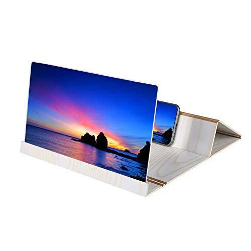 12'' Screen Magnifier Smartphone Magnifying Glass, Anti ...