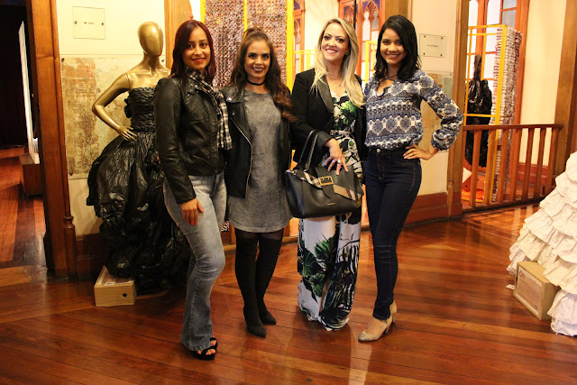 Deborah Cardoso, Paola Machado, Bianca Ladeia e Naiara Santos
