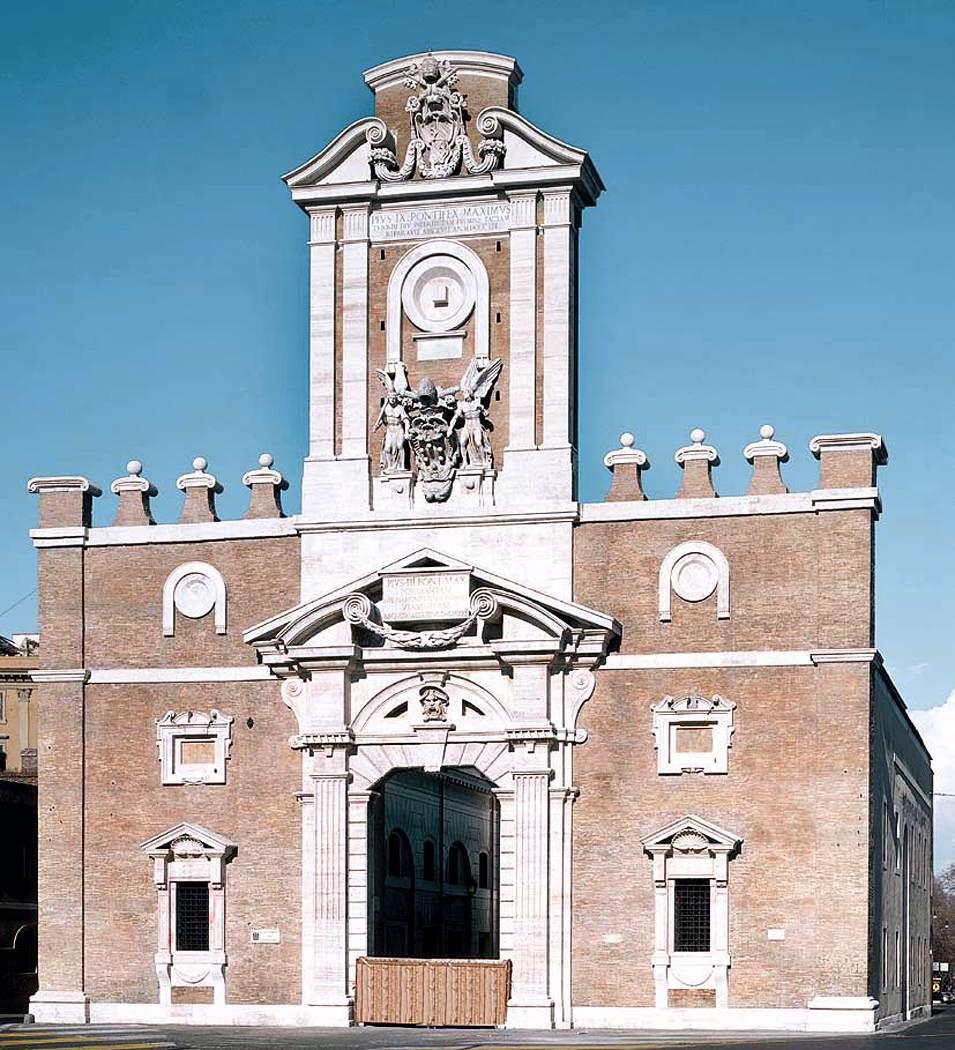 Todo arte miguel ngel buonarrotti como arquitecto - San michele a porta pia ...