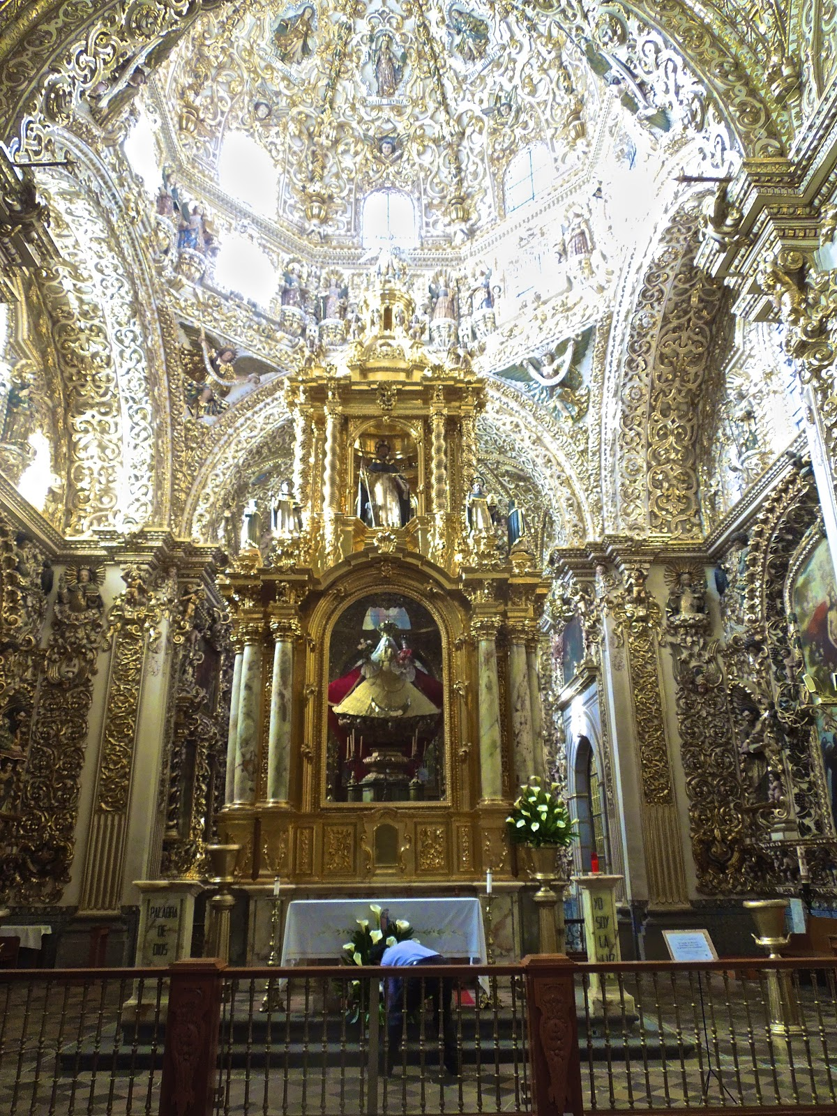 Colonialmexicoinsideandout The Rosary Chapels Of Mexico