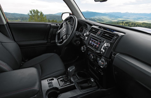 2017 Toyota 4runner Interior Features