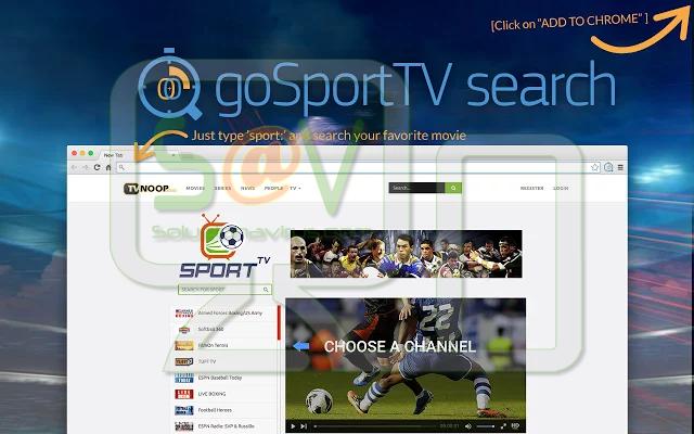 """""""GoSportTV Search"""" (Extensión)"""