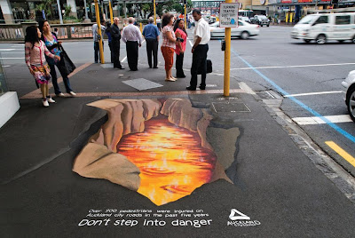 14 Creative and Clever Uses of Road in Advertisements (14) 13
