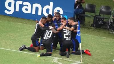 Cruzeiro 1 x 2 Emelec - Taça Libertadores 2019 rodada 6