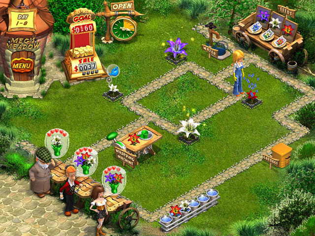 Flower Shop Big City Break PC Game Play