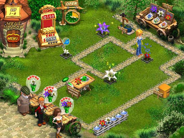 Flower Shop Big City Break PC Game Play
