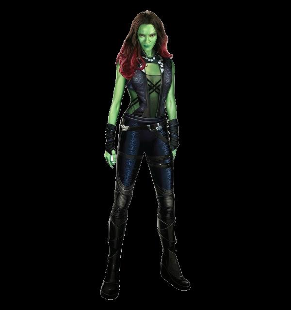 Gamora marvel guardians of the galaxy