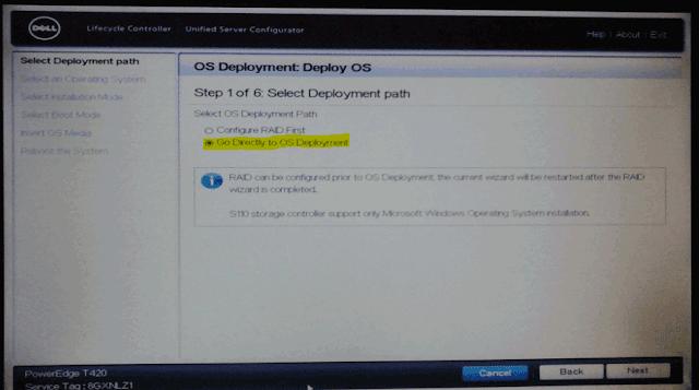 Os deployment Deploy OS