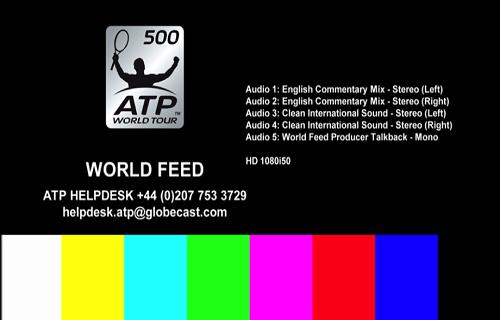 ATP World Tour Biss Key Eutelsat 7A/7B 3 October 2018