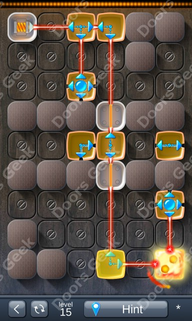 Solution for Laser Box - Puzzle (Classic) Level 15