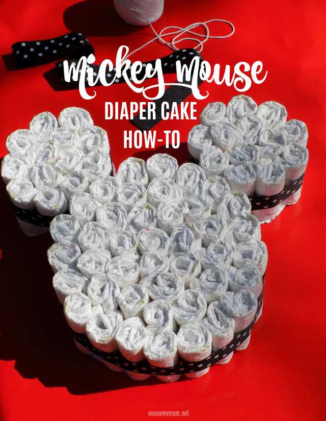One Savvy Mom Nyc Area Mom Blog Diy Mickey Mouse Shaped Diaper